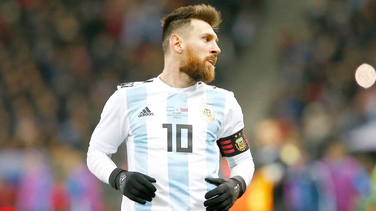 Presidente de federação argentina revela pedido para Messi: 'Jogue menos pelo Barça'