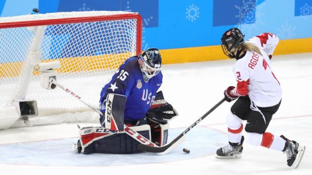 Maddie Rooney, U.S. women's hockey relish anniversary of Olympic gold