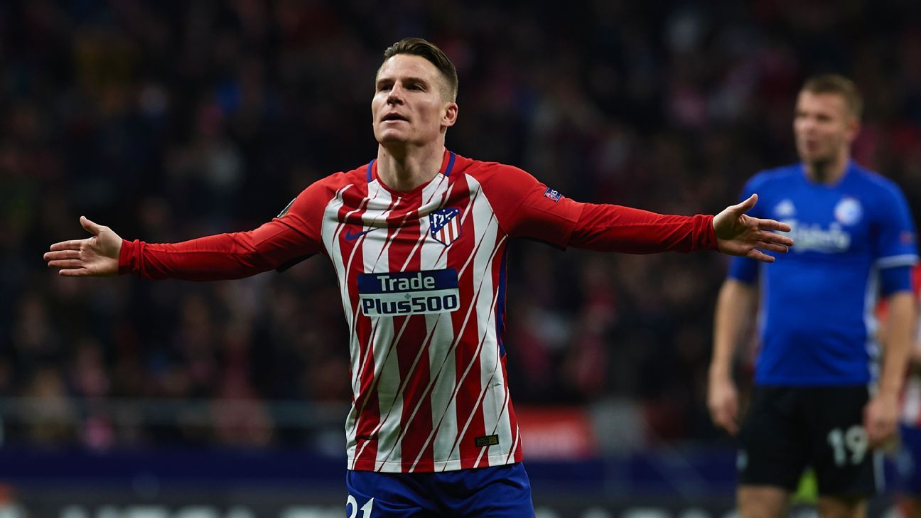 Gameiro scores as Atleti ease past Copenhagen into last-16