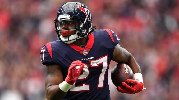 Texans might turn to D'Onta Foreman to revive running game