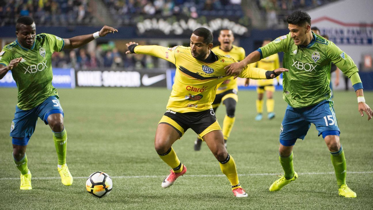 Seattle Sounders beat Santa Tecla in CCL with second-half onslaught