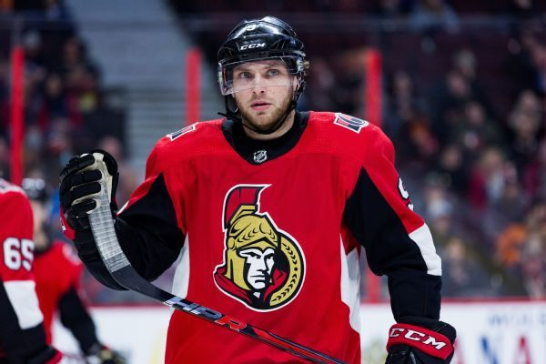 Senators place forwards Bobby Ryan, Matt Duchene on IR