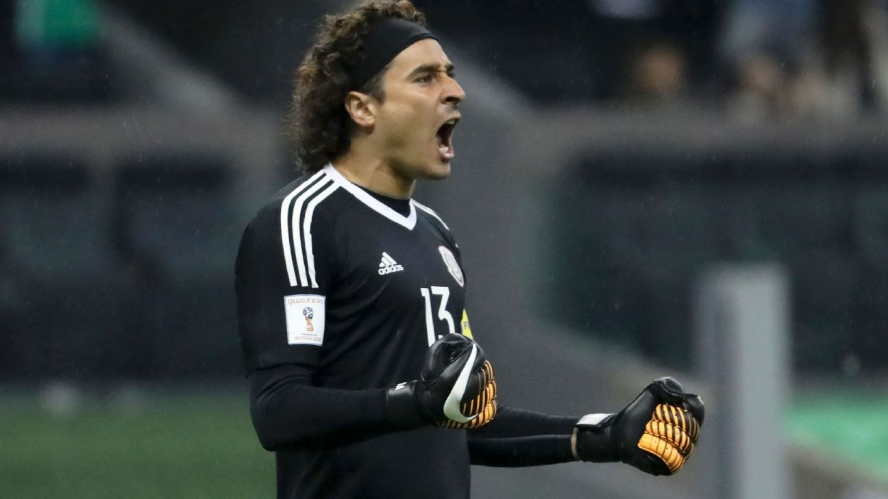 Mexico's Guillermo Ochoa has stood out in Europe and with El Tri