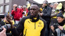 Usain Bolt training with Norwegian side Stromsgodset after Manchester United, Borussia Dortmund trials