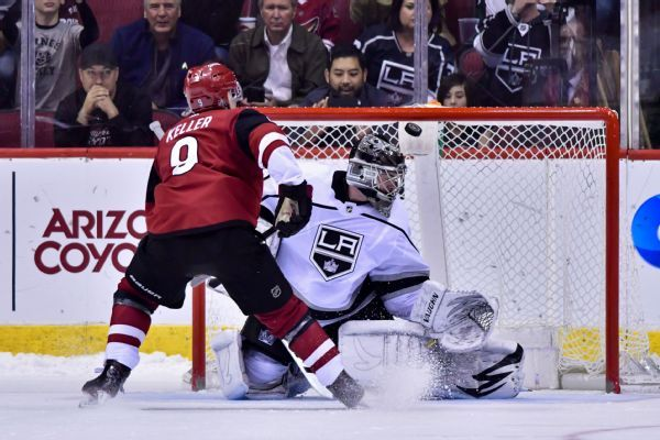 Kings lose goalie Jack Campbell to surgery, too