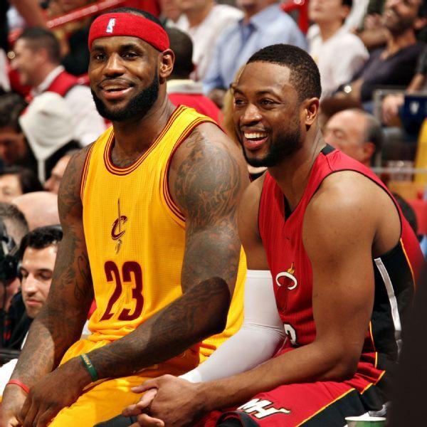 Juego contra Dwyane Wade y el Heat  será 'amargo y dulce', LeBron James