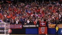 'Stranger Things' actress Millie Bobby Brown approves of Indy Eleven's tifo
