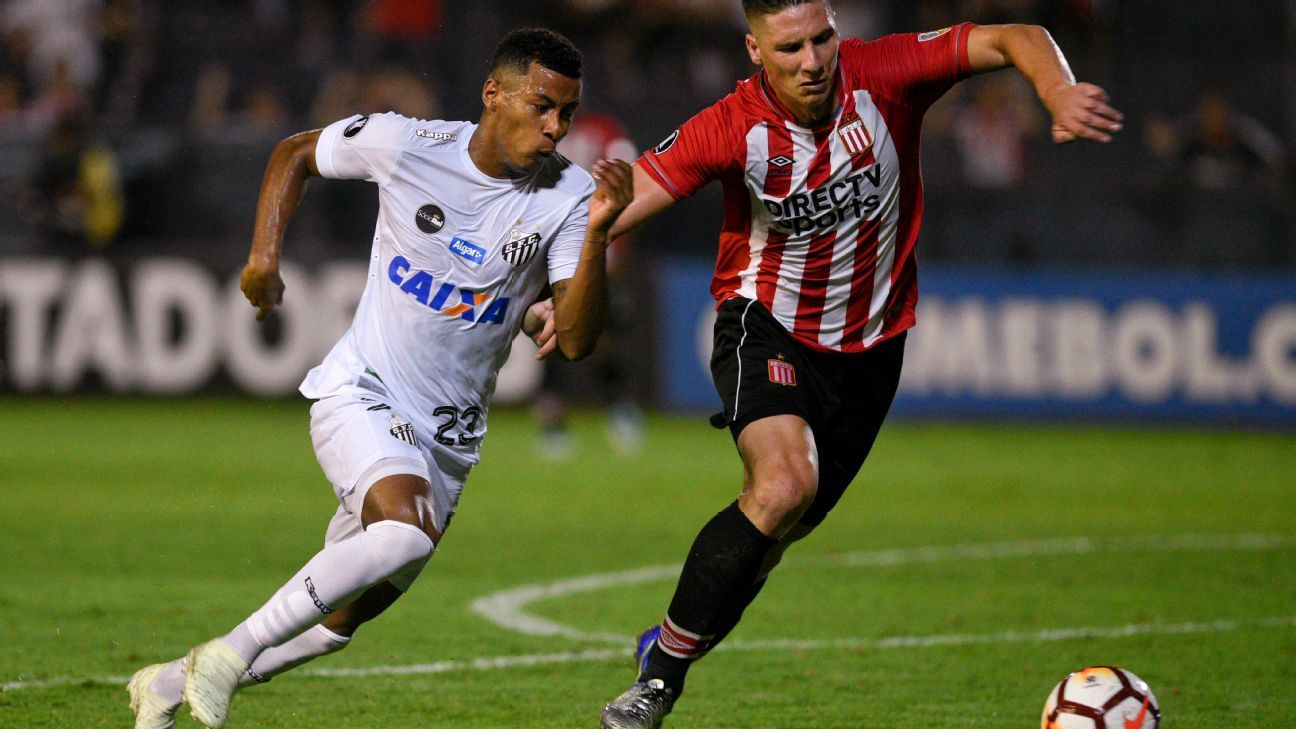 Santos-Estudiantes in the Copa Libertadores brings to mind what might've been