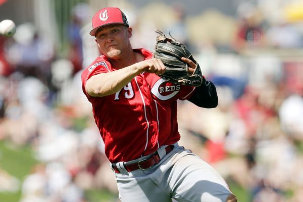 Reds top prospect Senzel has sprained ankle