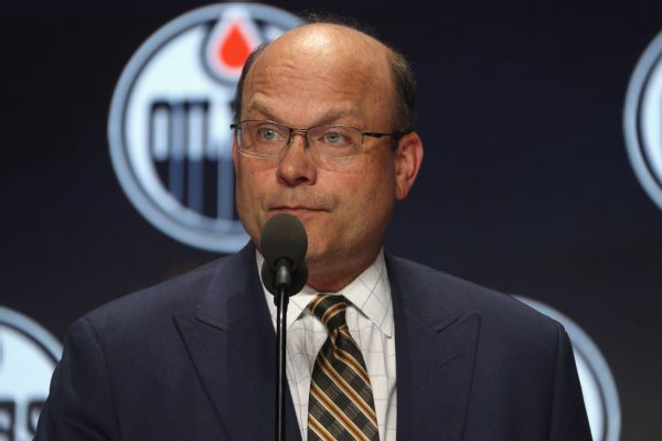 Oilers fire Peter Chiarelli as GM after home loss to Red Wings