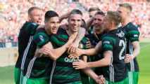 Robin van Persie scores as Feyenoord beat AZ Alkmaar to win Dutch Cup