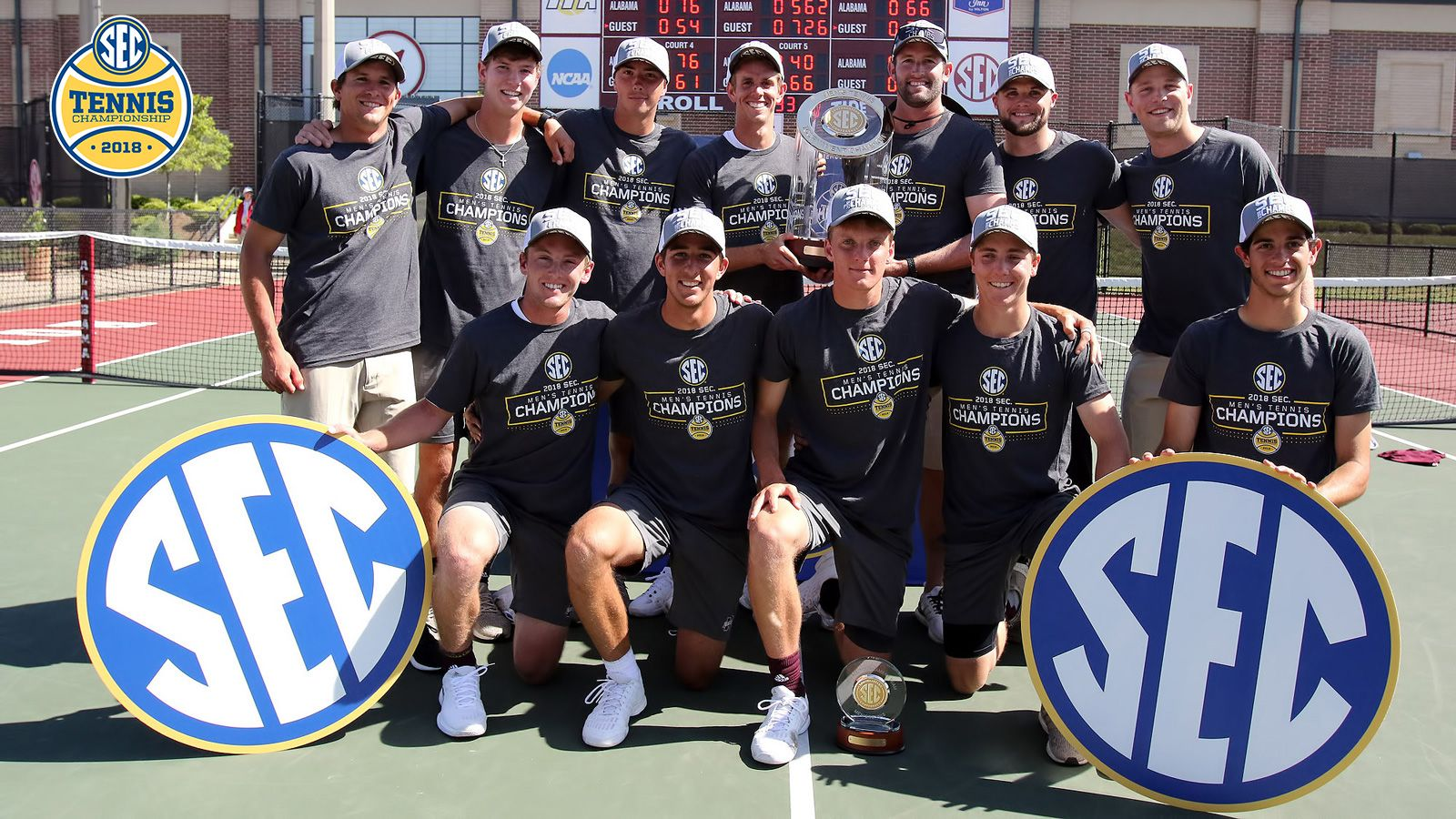 2018 Sec Men S Tennis Tournament