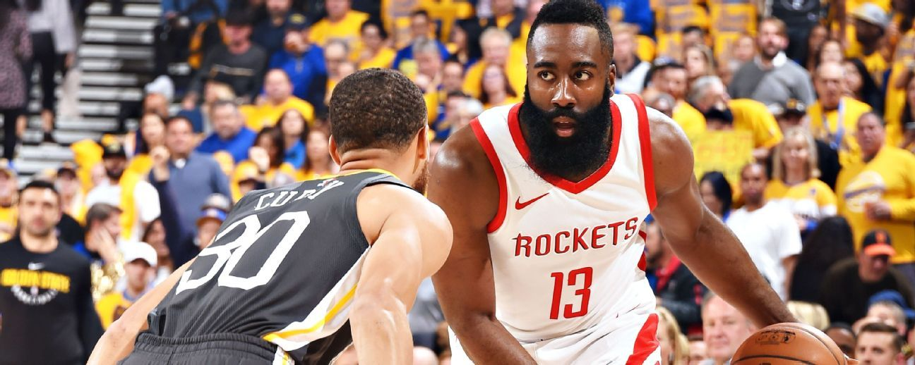 9b3b57421639 NBA playoff predictions - ESPN forecast on Rockets vs Warriors and ...