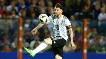 Lionel Messi scores hat trick as Argentina rout Haiti