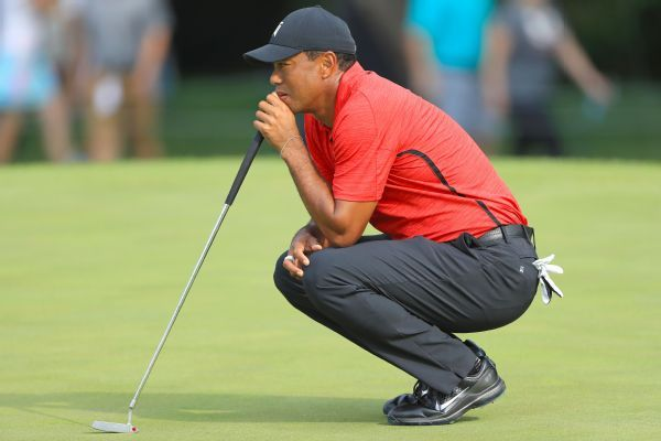 Tiger Woods experimenting with rule that allows putting with flagstick in