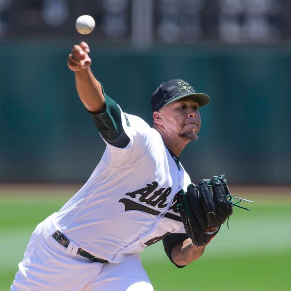 Montas parlays new pitch into spot in A's rotation