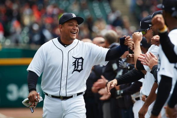 Miguel Cabrera faces pitcher for 1st time since June arm injury
