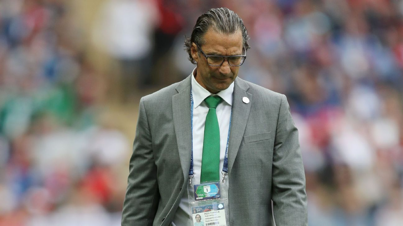 Pizzi renunció tras la eliminación de Arabia