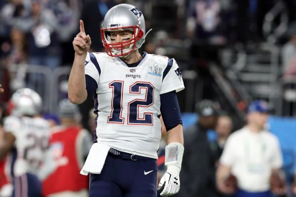 Westgate SuperBook favors Tom Brady to win Super Bowl MVP award