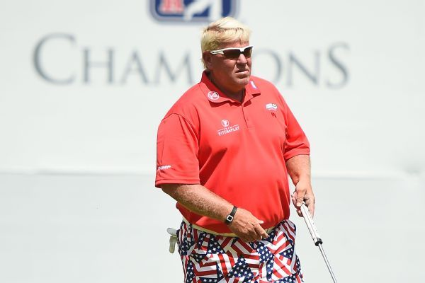 John and Little John Daly shoot 59, lead Father-Son Challenge by 1 shot