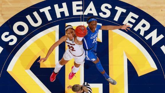 SEC Announces 2021 Women's Basketball ESPN Schedule