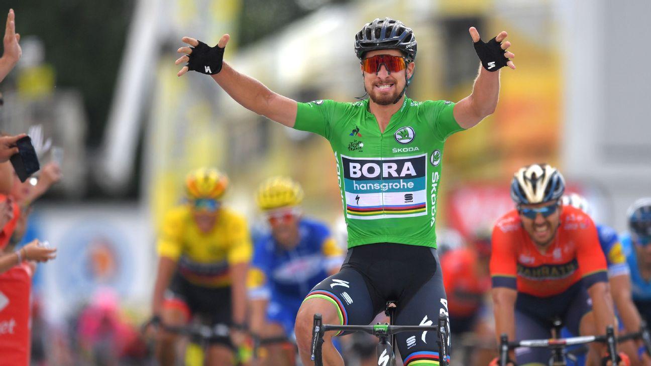 2018 Tour de France stage 6 -- Dan Martin sprints to win