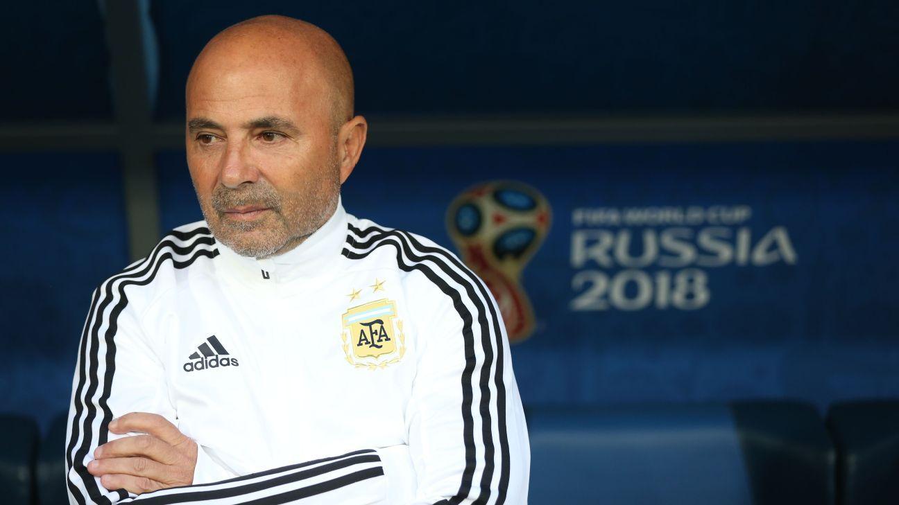 Ex-Argentina boss Jorge Sampaoli to join Brazilian club Santos
