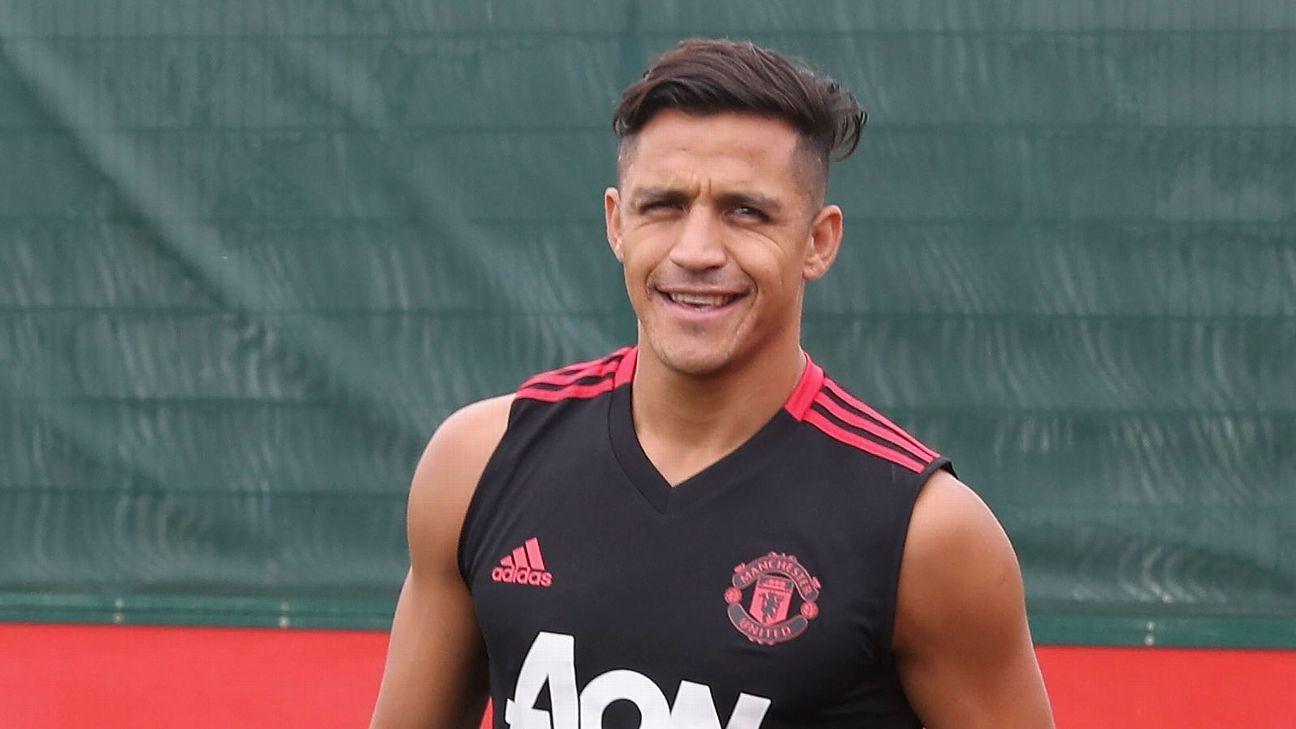Alexis impresiona en las prácticas del United