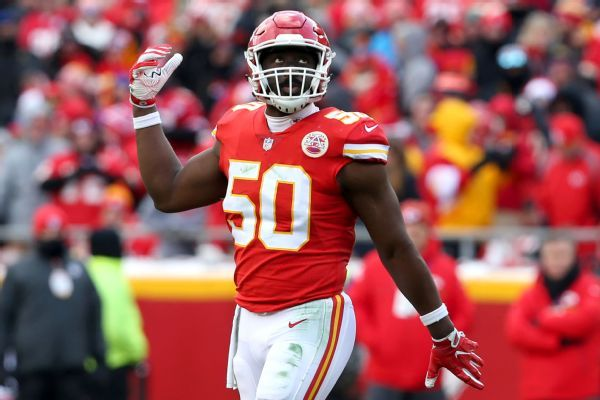 Source: Colts agree with ex-Chiefs LB Houston
