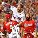 1a467438e6a Bryce Harper of Washington Nationals captures Home Run Derby crown ...