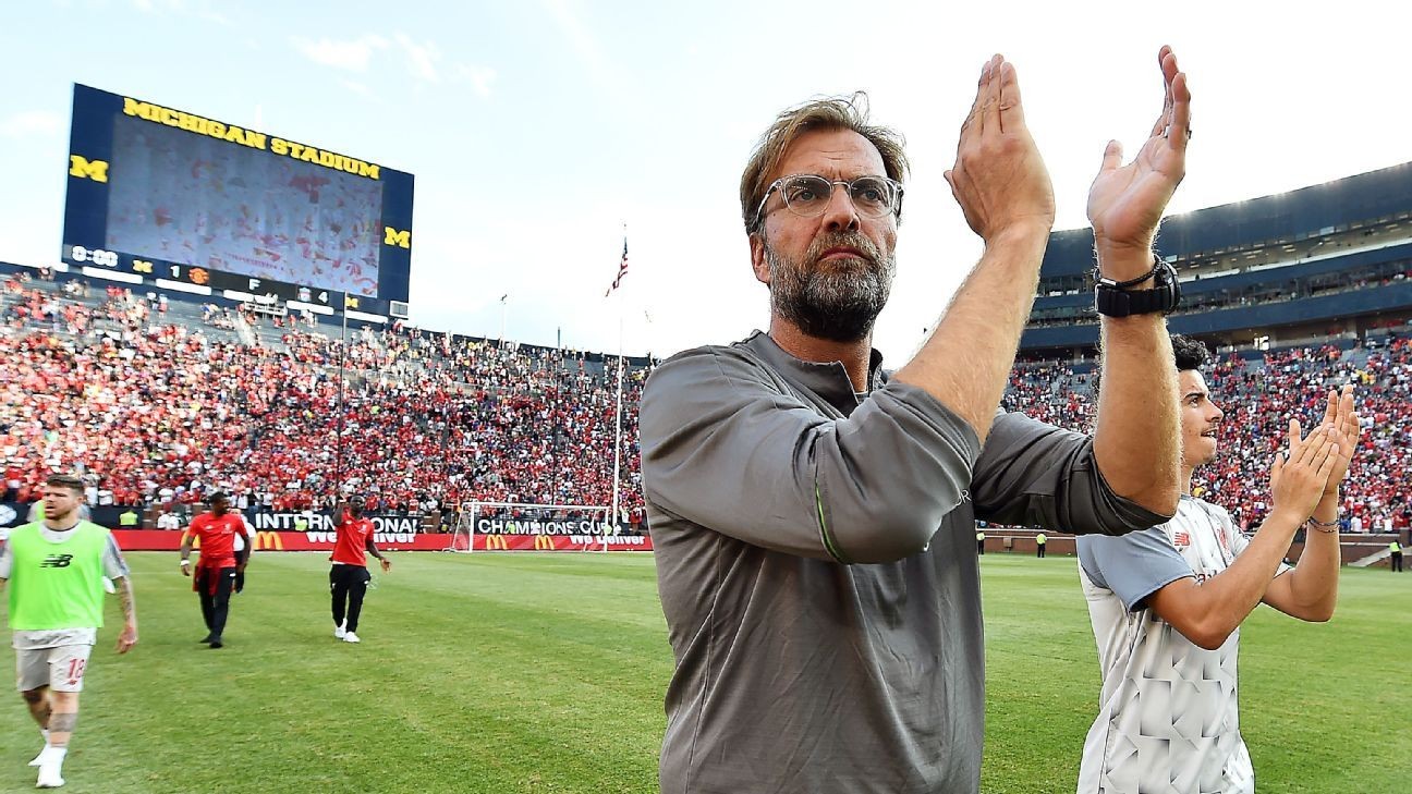 Liverpool considering U.S. preseason tour for second straight year - sources