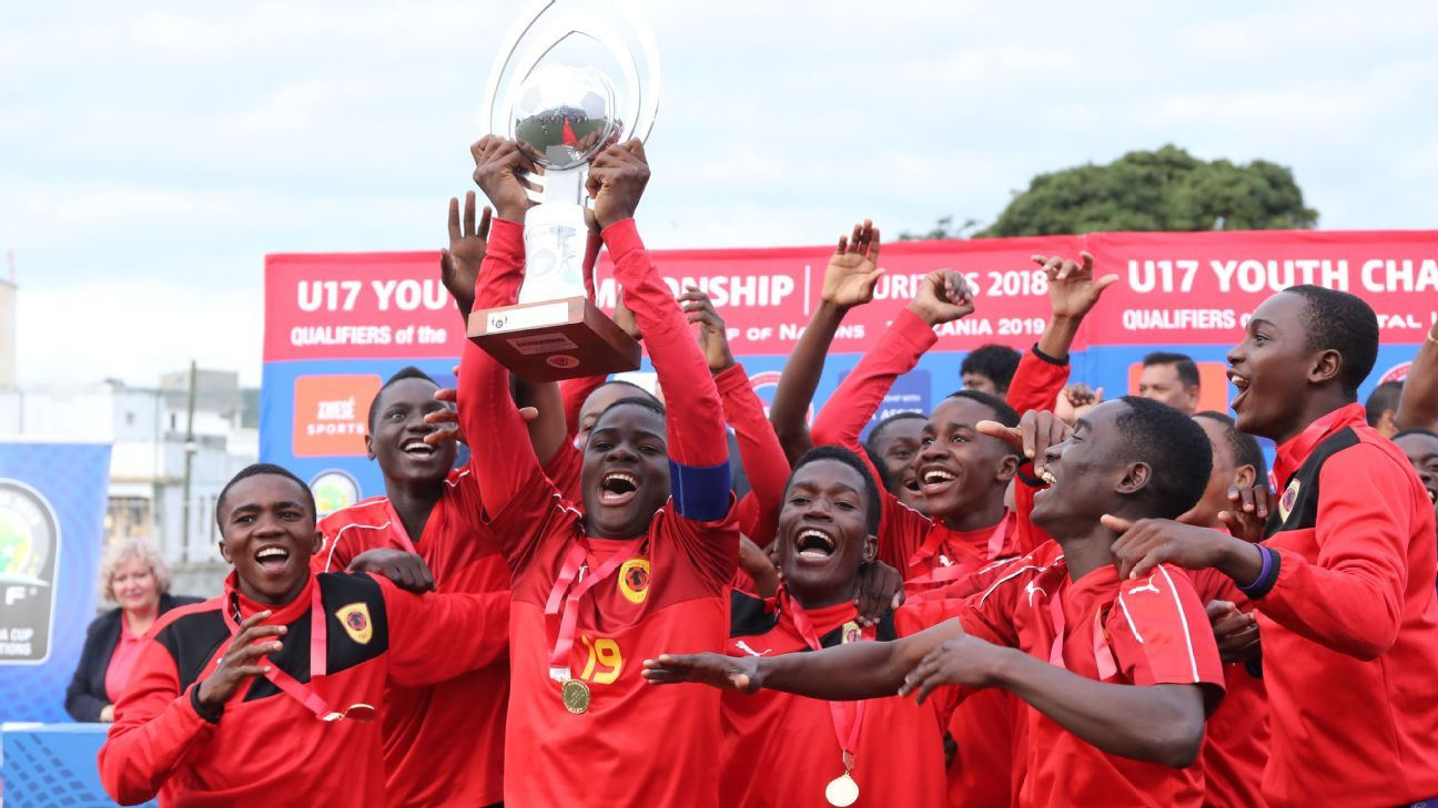 Angola down South Africa to clinch COSAFA U-17 Cup