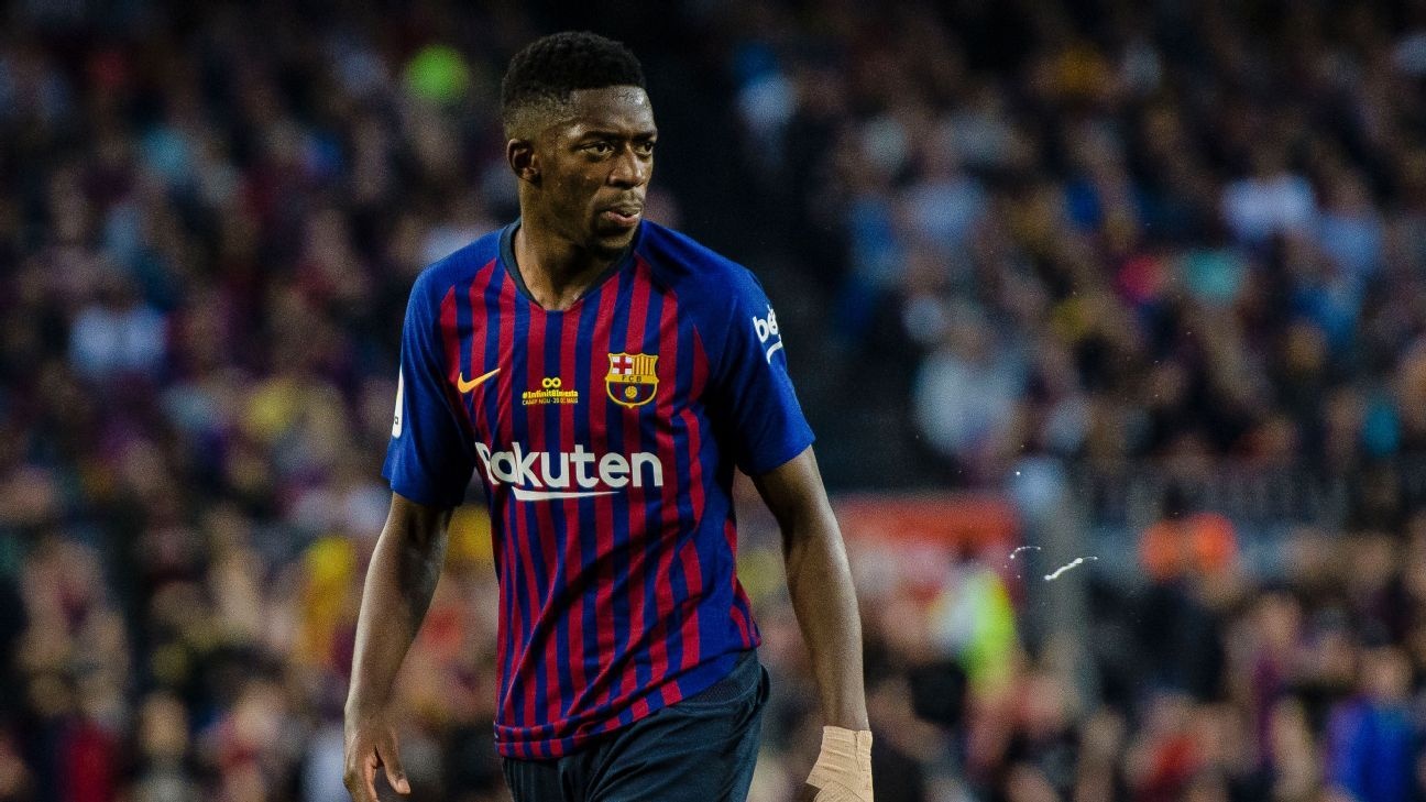 Barcelona general manager backs Ousmane Dembele to overcome 'difficult' start