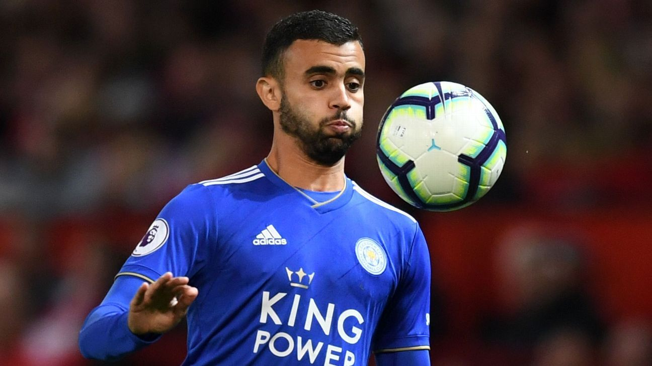 Rachid Ghezzal makes Algerian history for Leicester vs. Liverpool