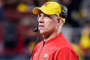 Fired Maryland coach Durkin helping Falcons