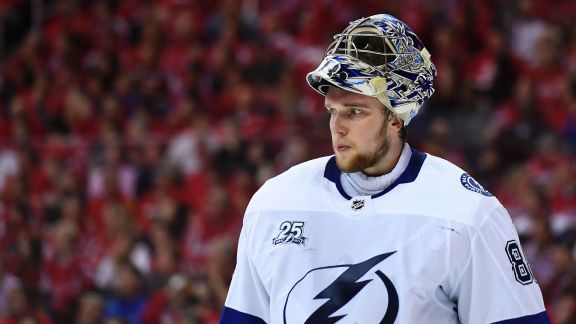 Lightning beat Leafs as Andrei Vasilevskiy makes 48 saves in return
