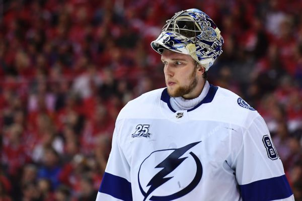 Lightning's Andrei Vasilevskiy returns, to start against Leafs