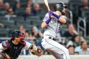 Rockies All-Star Dahl scratched with bruised foot