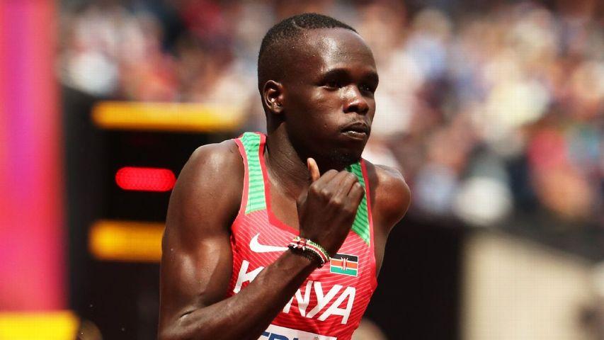 Kipyegon Bett Of Kenya Competes In The 2017 Iaaf World Championships
