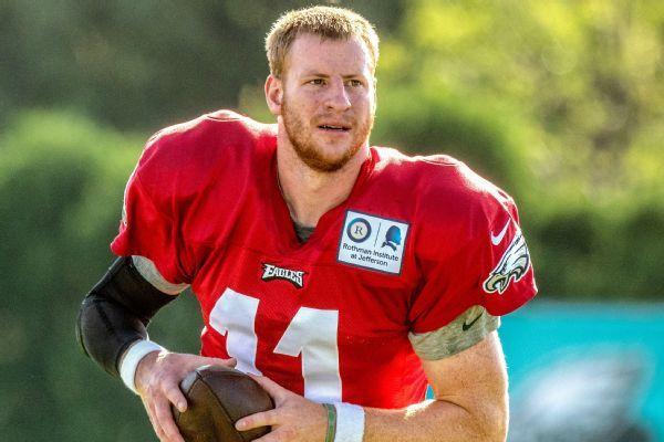 Eagles' Zach Ertz, Fletcher Cox, Lane Johnson defend Carson Wentz