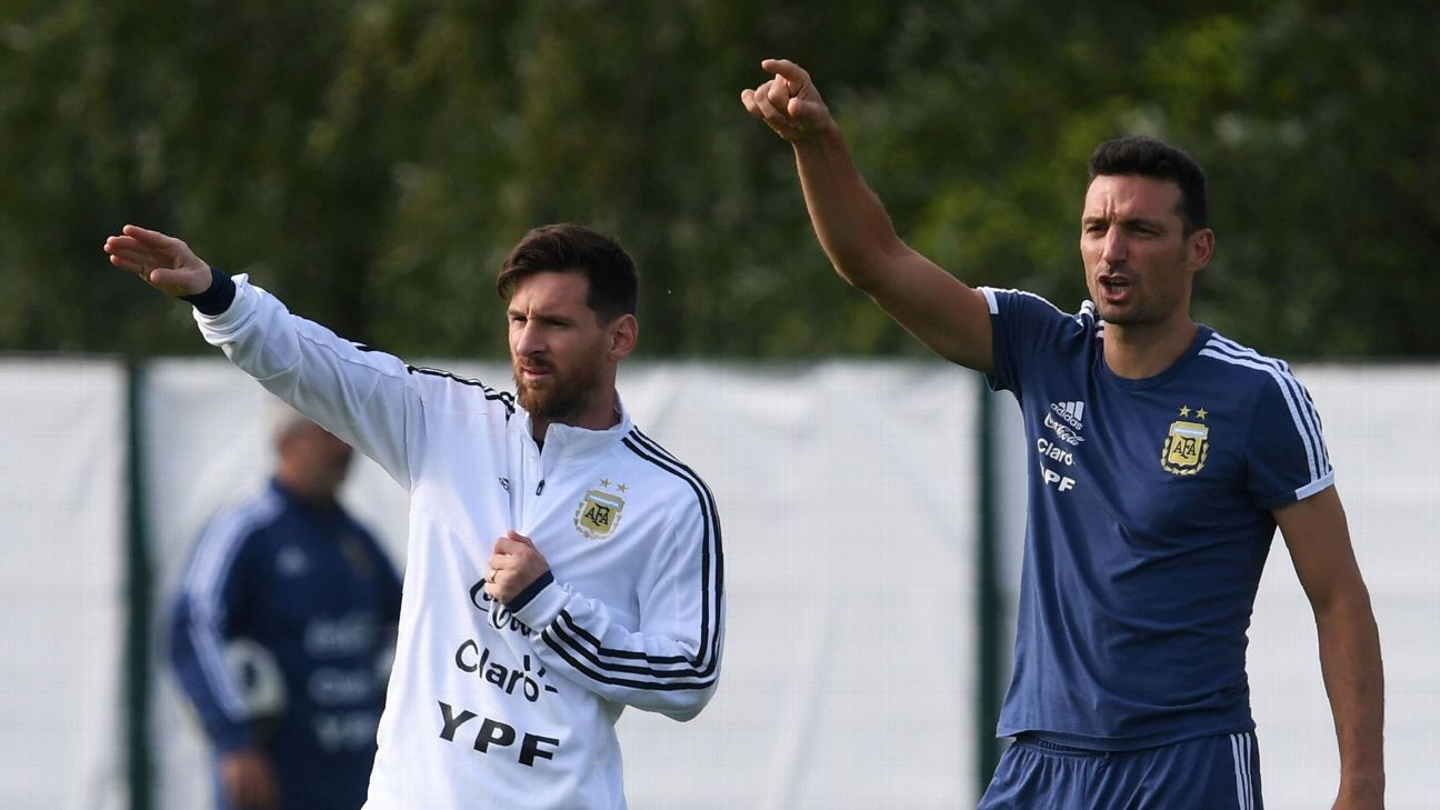 Argentina ask Lionel Scaloni to stay on as manager until Copa America