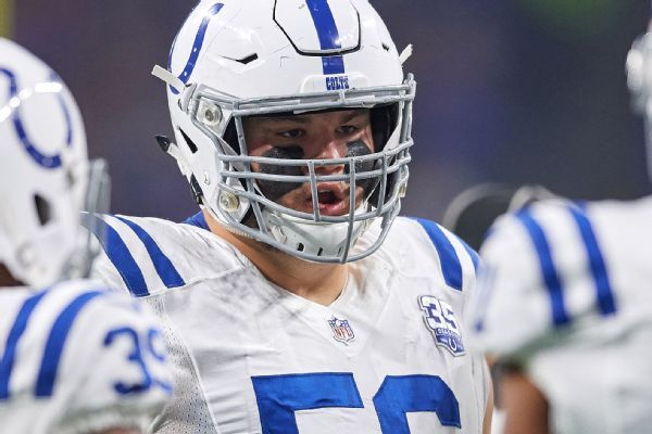 Colts' Quenton Nelson fined for leading with helmet on play that went viral