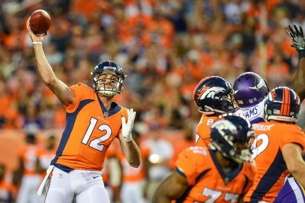 Seahawks sign Paxton Lynch as backup option