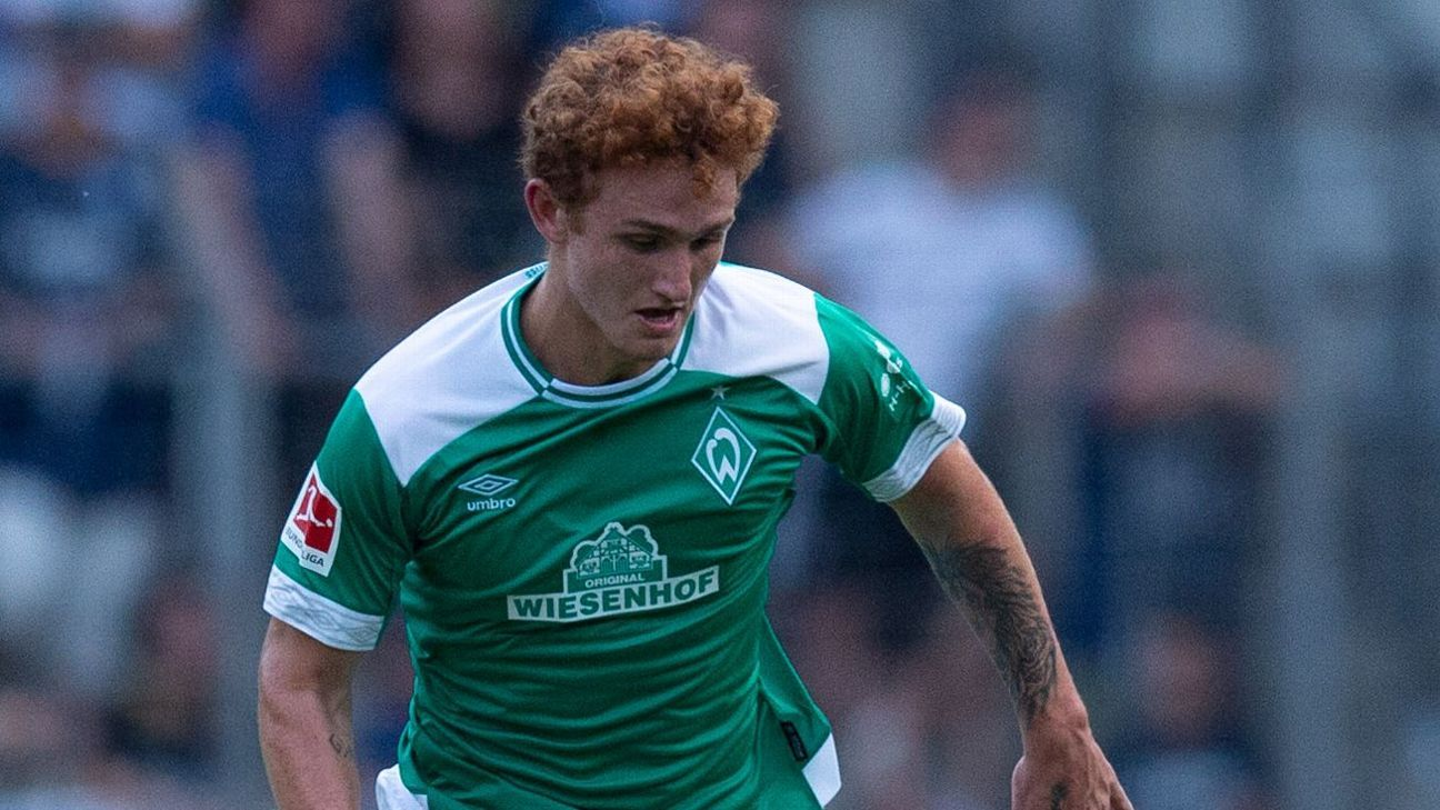 United States striker Josh Sargent could make Werder Bremen debut vs. Fortuna