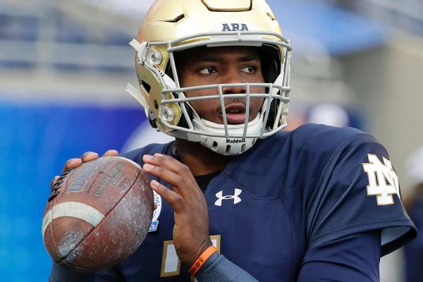 QB Brandon Wimbush headed to UCF as grad transfer