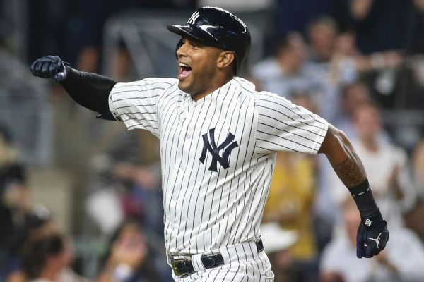 Second shot does the trick for Yankees' Hicks