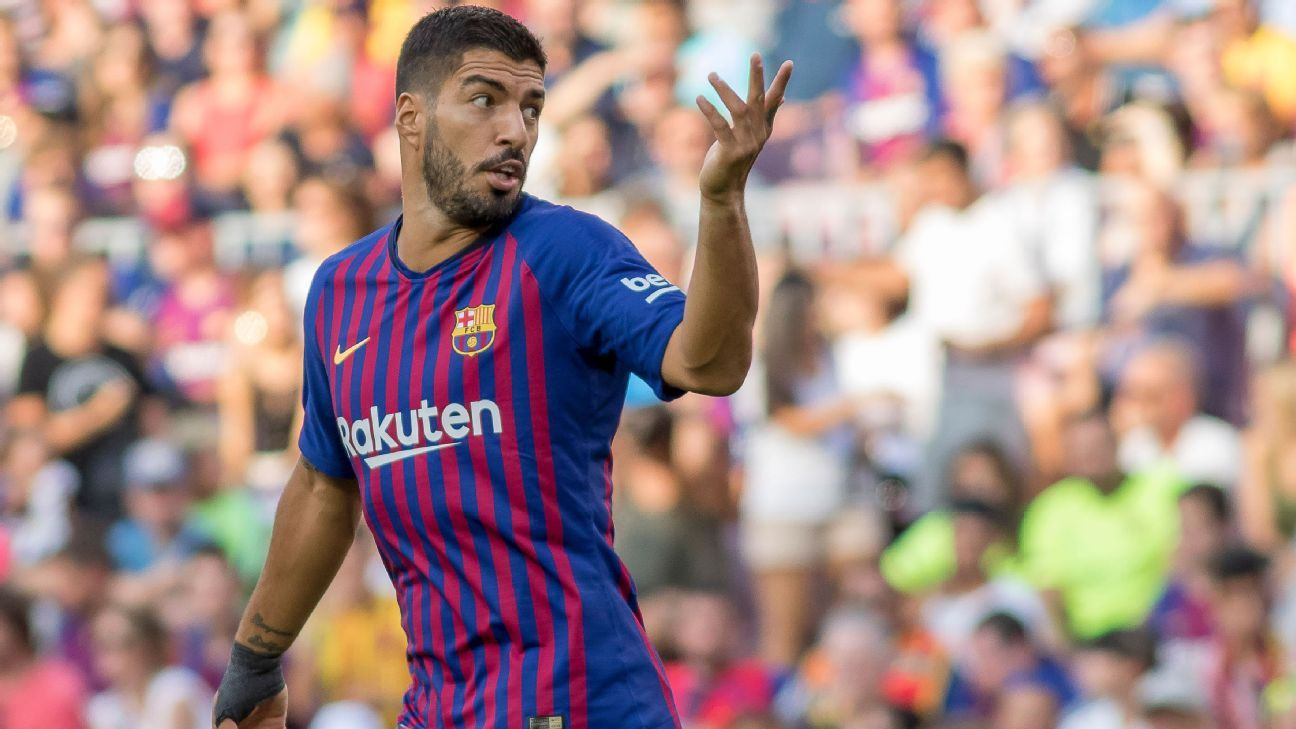 Barcelona's Luis Suarez criticises VAR - despite benefitting from technology