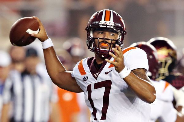 Hokies QB Josh Jackson, RB Deshawn McClease say they're transferring