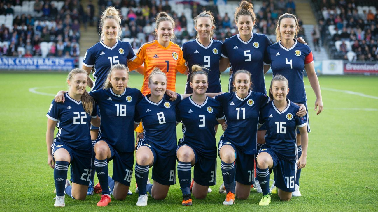 Scotland women reach first-ever World Cup after beating Albania to top group