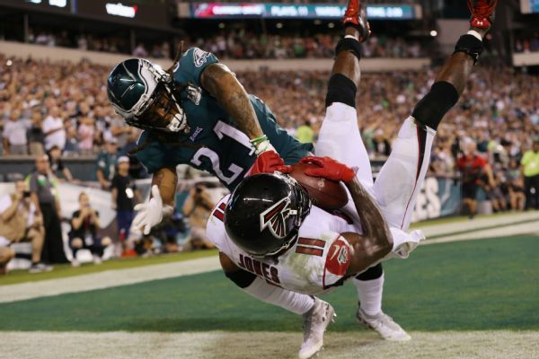 Eagles CB Ronald Darby suffers torn ACL, out for season